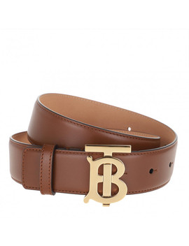 Tb Belt Tan by Burberry