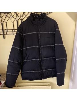 Black Stussy Puffer Jacket Size Xl Fits L/Xl  I'm by Depop