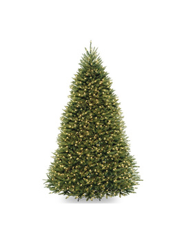 National Tree Company 9' Dunhill Fir Tree With Clear Lights by National Tree Company