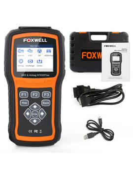 Abs Bleeding Srs Sas Calibration Tool Obd2 Code Reader Diagnostic Scanner Nt630 by Foxwell