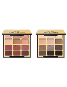 Milani Eyeshadow Palette Favorites: Pure Passion + Soft & Sultry by Milani