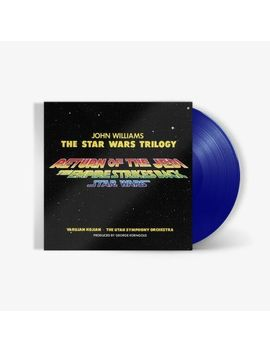 John Williams   Star Wars Original Trilogy Original Motion Picture Score [Exclusive Light Saber Red, Blue, Or Green Vinyl] by Fye