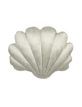 Baby Shell Pillow, Ice Blue by Tamar Mogendorff