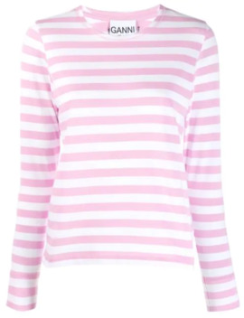 Striped Top by Ganni