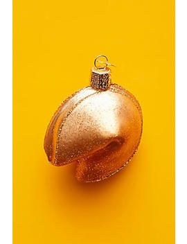 Fortune Cookie Ornament by Anthropologie