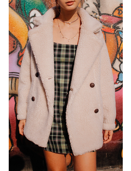 Teddy Bear Double Breasted Coat by Subdued