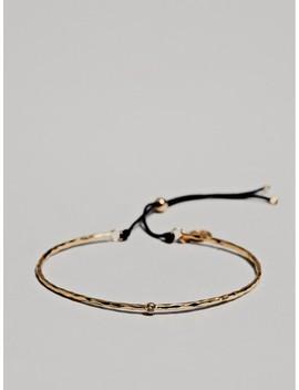 Vergoldetes Armband Mit Halbmond Und Zirkonia by Massimo Dutti