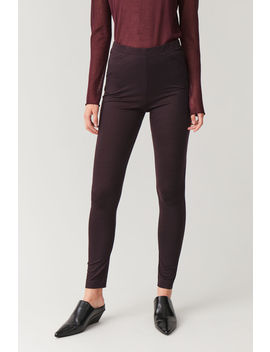Wool Jersey Leggings by Cos