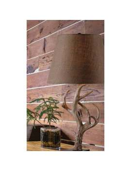 Big Buck Brown 29 Inch Table Lamp by Design Craft