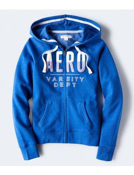 Aero Varsity Dept Full Zip Hoodie by Aeropostale