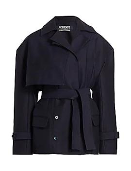 Carini Tie Waist Jacket by Jacquemus