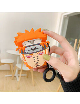 Cartoon Naruto Ring Silicone Headphone Case For Apple Air Pods1 2 Charging Cover by Unbranded