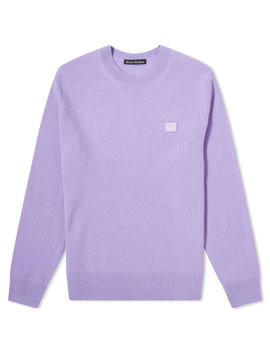 Acne Studios Kalon Face Crew Knit by Acne Studios