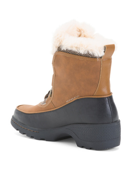 Cozy Lined Storm Boots by Tj Maxx