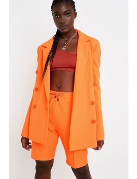 House Of Holland Neon Orange Blazer Jacket by House Of Holland
