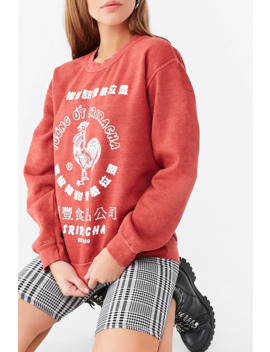 Sriracha Graphic Sweatshirt by Forever 21