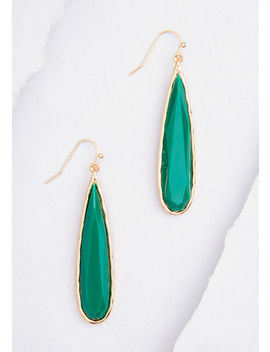 Drop Me A Line Earrings by Modcloth