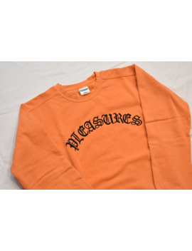 Pleasures Old E Embroidered Crewneck by Pleasures  ×