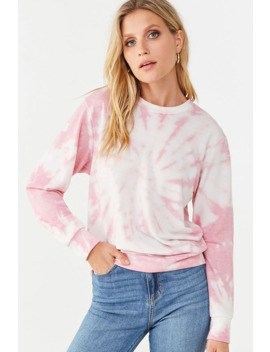 Soft Knit Tie Dye Top by Forever 21