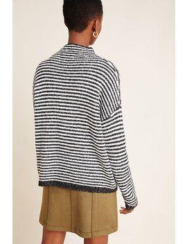 Linnea Mock Neck Sweater by Anthropologie