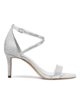 Ava Metallic Ankle Strap Sandals by Michael Michael Kors