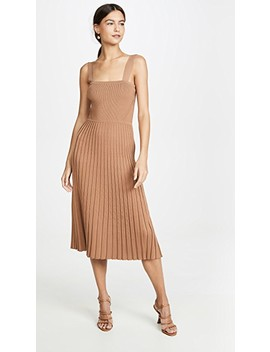Sleeveless Fit And Flare Knit Dress by Cushnie
