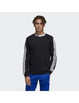 Trefoil Rib Tee by Adidas