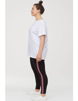 H&M+ Leggings Med Revärer by H&M