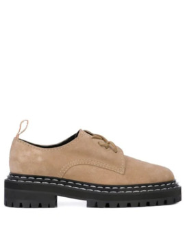 Suede Oxfords by Proenza Schouler