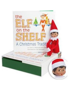"<Span><Span>The Elf On The Shelf: A Christmas Tradition With</Span><Br><Span>Dark Skin Tone Girl Scout Elf</Span></Span><Span Style=""Position: Fixed; Visibility: Hidden; Top: 0px; Left: 0px;"">…</Span> by Elf On The Shelf"