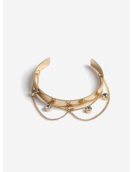 Gold Arm Cuff by Miss Selfridge