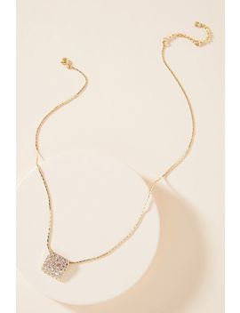 Mosiac Pendant Necklace by Anthropologie