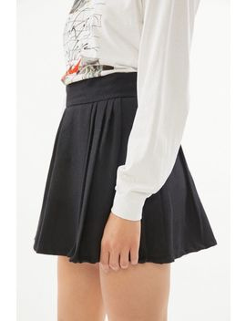 Urban Renewal Vintage Pleated Solid Skirt by Urban Renewal