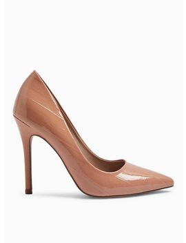 Nude Caterina Pointed Court Shoes by Miss Selfridge