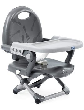 Chicco Pocket Snack Booster Seat   Dark Grey159/7842 by Argos
