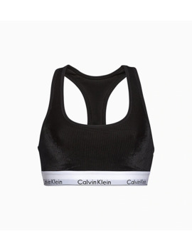 Bralette   Modern Cotton Velvet by Calvin Klein
