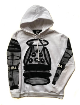 Hood By Air Hba Logo Hoodie by Hood By Air  ×