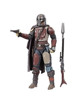 Star Wars The Black Series The Mandalorian Collectible Toy Action Figure by Hasbro