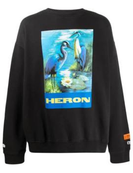 Sweater Met Grafische Print by Heron Preston