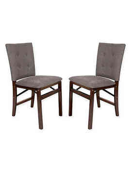 Folding Parsons Chairs (Set Of 2) by Bed Bath And Beyond