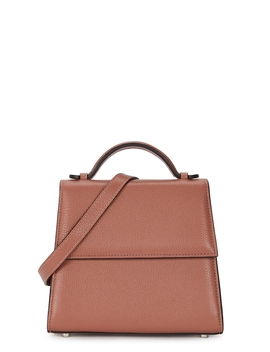 Small Rose Leather Top Handle Bag by Hunting Season