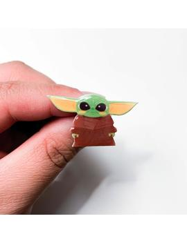 Baby Yoda Pin by Etsy