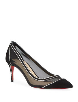 Galativi Strass Red Sole Pumps by Christian Louboutin