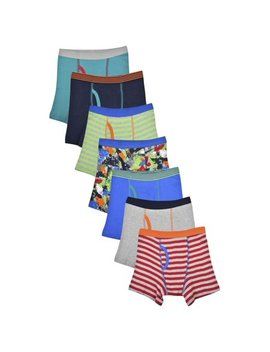 Wonder Nation Boys Underwear, 7 Pack Boxer Briefs (Little Boys & Big Boys) by Wonder Nation