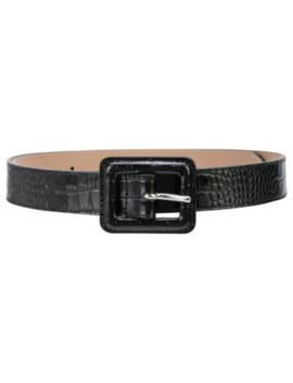 Ana Croc Effect Belt by B Low The Belt