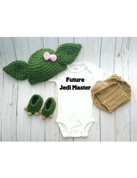 Yoda Halloween Costume, Baby Girl Jedi Star Wars Costume, Jedi Master Boy Outfit, Newborn Photo Prop, Birthday Cake Smash, Baby Shower Gift by Etsy