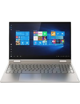 "Yoga C740 2 In 1 15.6"" Touch Screen Laptop   Intel Core I7   12 Gb Memory   512 Gb Solid State Drive   Mica by Lenovo"