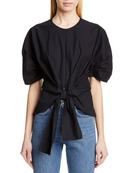 Tie Front Top by Proenza Schouler