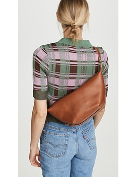 The Leather Sling Bag by Madewell