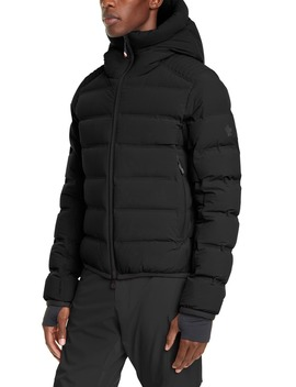 Lagorai Hooded Stretch Nylon Puffer Jacket by Moncler Grenoble